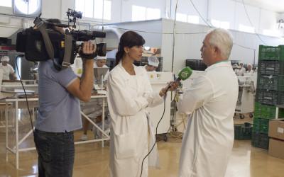 La Sexta recoge el inicio de la campaña de mantecados en Estepa
