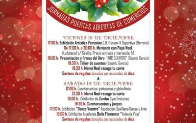 (Español) Estepa celebra la I Feria de la Navidad con degustación de mantecados y polvorones