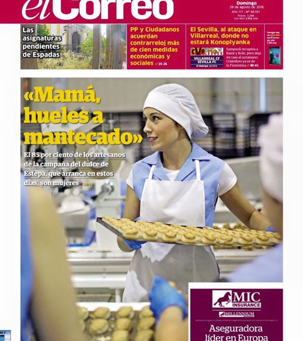 La historia m s dulce igp mantecados y polvorones de estepa - Mas l estepa agullana ...
