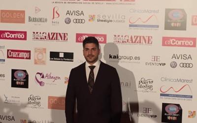 El estepeño Javier García, Favorito 2016 con Sevilla Magazine
