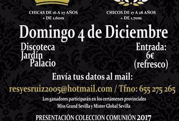 Mantecados de Estepa par la Gala Miss y Mister de la Sierra Sur