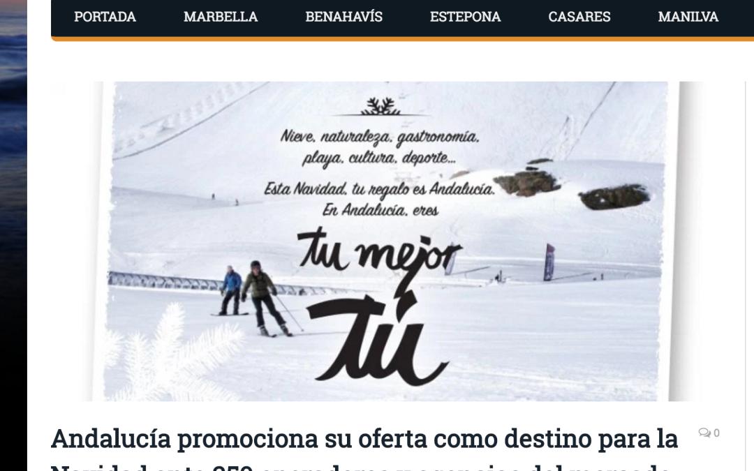 Andalucía promociona su oferta como destino para la Navidad ante 250 operadores y agencias del mercado nacional