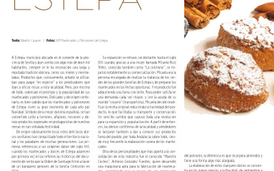 La revista Origen dedica un especial a los mantecados de Estepa