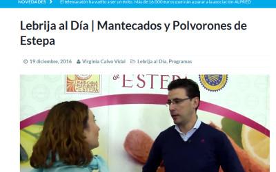 Lebrija TV visita nuestra industria del mantecado