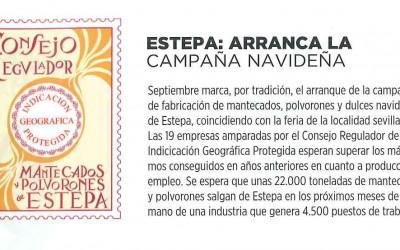 Sabor a Estepa en la revista gastronómica Origen