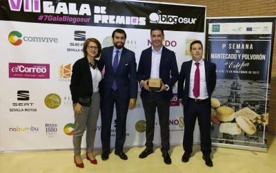 Mantecados y polvorones en los Premios Blogosur