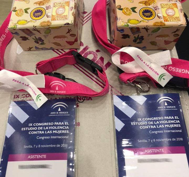 Mantecados y polvorones en el Congreso para el Estudio de la Violencia contra las Mujeres