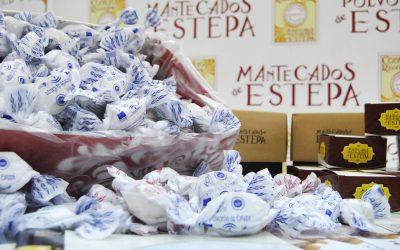 Degustación de mantecados y polvorones de Estepa en el Mercado Victoria