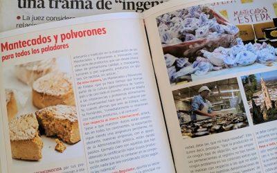 (Español) Estepa junto a sus mantecados y polvorones, protagonistas en Diario de Sevilla