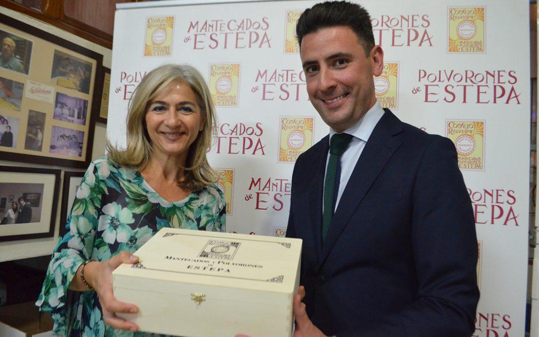 Patricia del Pozo, Consejera de Cultura y Patrimonio, visita La Colchona