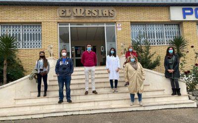 Visitas a nuestras fábricas de mantecados, a pesar del Covid19