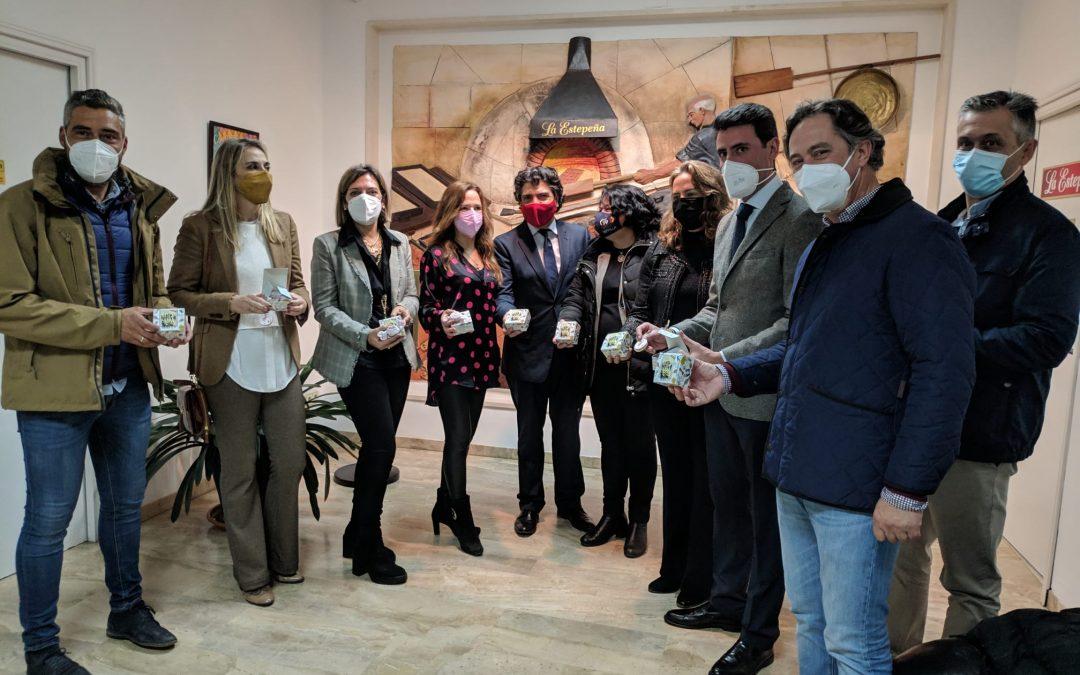 Cuatro diputados nacionales del Partido Popular visitan La Estepeña