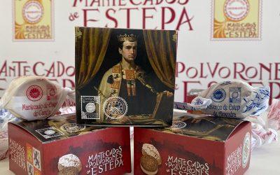 (Español) Mantecados y Polvorones de Estepa, como homenaje a Alfonso X El Sabio, en el Real Alcázar de Sevilla